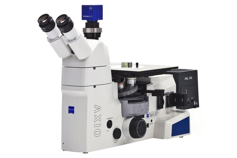 Kính hiển vi soi ngược Axio Vert A1 MAT Trong Sắt Thép